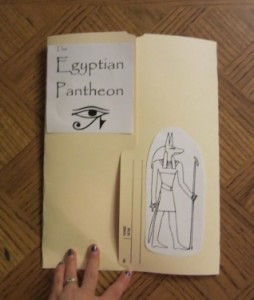 free mythology lapbook printables