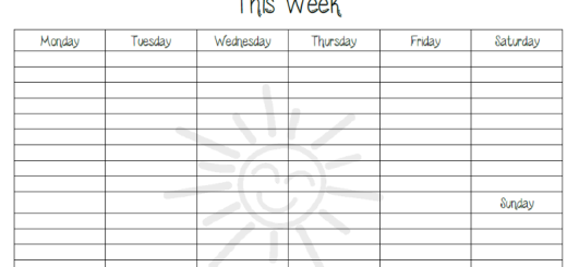 weekly homeschool to-do list printable