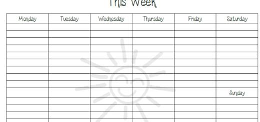 weekly homeschool to-do list printable