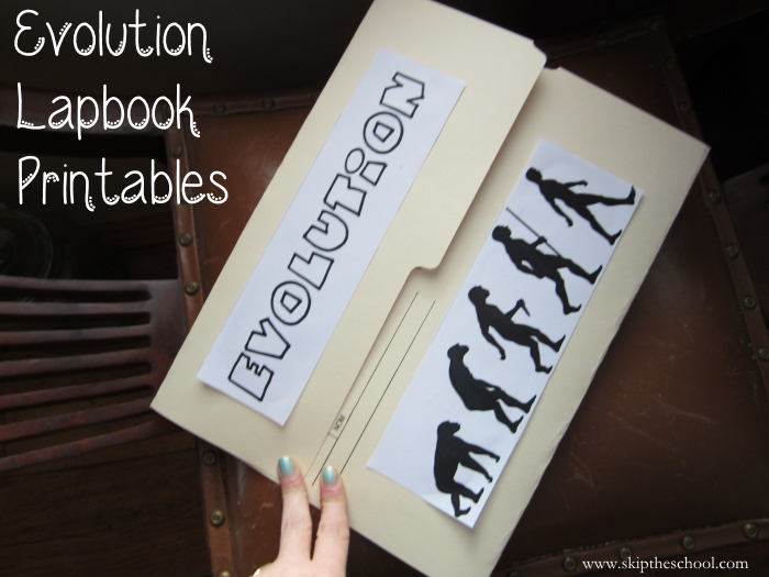 secular evolution lapbooks for homeschoolers