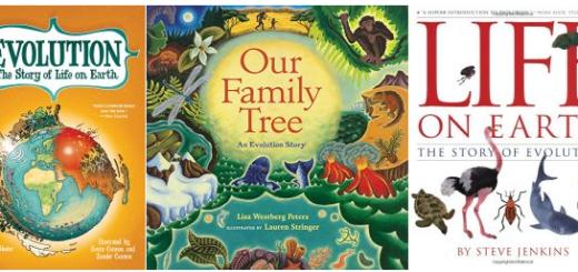 secular books on evolution for kids