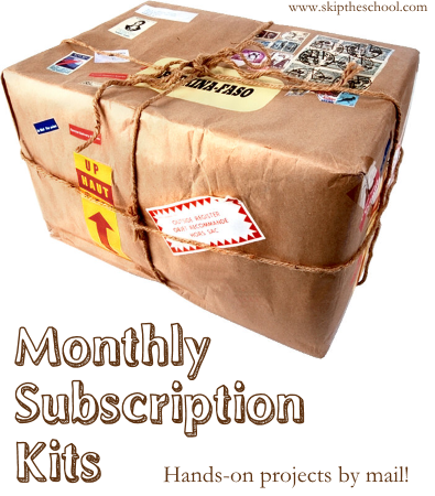 monthly subscription kits for secular homeschool