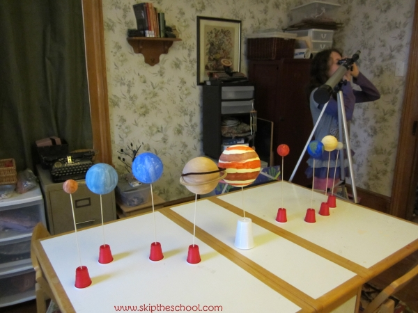solar system craft project
