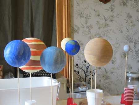 homeschool solar system
