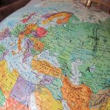using an old globe in homeschooling
