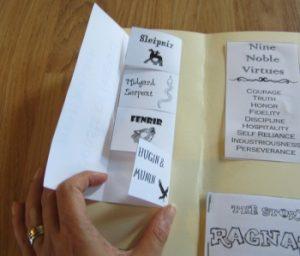 secular homeschooling lapbook printables
