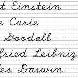 secular homeschooling cursive practice